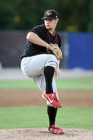 August 16 2008:  Starting pitcher Ryan Kulik (30) of the Quad Cities River Bandits, Class-A affiliate of the St. Louis Cardinals, during a game at Pohlman Field in Beloit, WI.  Photo by:  Mike Janes/Four Seam Images