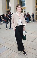 October 2 2017, PARIS FRANCE<br /> the HermËs Show at the Paris Fashion Week<br /> Spring Summer 2017/2018. Actress Julie Gayet leaves the show.