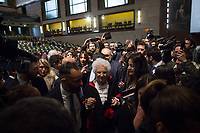 18.02.2020 - Liliana Segre Honorary Doctorate in History of Europe at La Sapienza Opening Ceremony