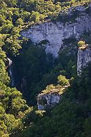 Europe/Europe/France/Midi-Pyrénées/46/Lot/Autoire: Le cirque d'Autoire et sa cascade