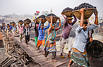 Coal workers by Badal Chandra Sarker