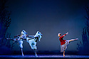 Edinburgh, UK. 06.12.2019. Scottish Ballet presents the world premiere of The Snow Queen, at the Festival Theatre. The work is choreographed by Christopher Hampson, to the music of Rimsky-Korsakov, with set and costume design by Lez Brotherston, and lighting design by Paul Pyant.  The cast is: Constance Devernay (Snow Queen), Bethany Kingsley-Garner (Gerda), Andrew Peasgood (Kai), Kayla-Maree Tarantolo (Lexi). The picture shows: Bethany Kingsley-Garner (Gerda). Photograph © Jane Hobson.