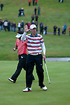 3rd June 2012 - Celtic Manor Resort - Newport - South Wales - UK :   Ross Fisher of England at the ISPS Handa Wales Open Golf Tournament at the Celtic Manor Resort..