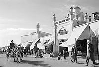 The Ahmad Shah Baba mosque in Kandahar, Afghanistan on August 15, 1989. Many consider Ahmad Shah Baba (1722 - 1773) the founder of modern Afghanistan.