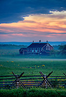 The Codori Farm, Gettysburg National Military Park, Pennsylvania, USA