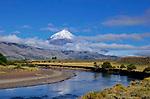 Andy Hermosilla on the Rio Malleo in Patagonia