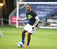 20th March 2021; Liberty Stadium, Swansea, Glamorgan, Wales; English Football League Championship Football, Swansea City versus Cardiff City; Leandro Bacuna of Cardiff City during warm up