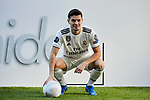 Brahim Diaz during his official presentation as Real Madrid's football player at Santiago Bernabeu Stadium in Madrid, Spain. January 07, 2019. (ALTERPHOTOS/A. Perez Meca)