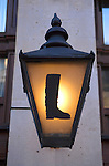Lobbs boot and shoe shop sign. St James Street London W1.