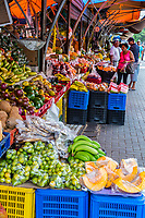 Willemstad, Curacao, Lesser Antilles.  Fruit and Vegetable Market.