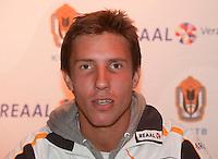 7-9-09, Alphen aan den Rijn, Persconferentie Daviscup team,