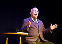 Julian Fellowes , actor, writer, director. Won a writing oscar for Gosforth Park and creator of the television peroid drama Downton Abbey.. Giving a talk at The Theatre Chipping Norton. CREDIT Geraint Lewis