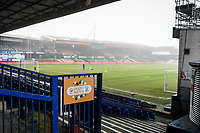9th January 2021; Kenilworth Road, Luton, Bedfordshire, England; English FA Cup Football, Luton Town versus Reading; Kenilworth Road ahead of kick off.