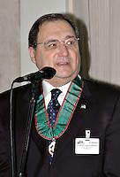 Roma 16 12 2004 Convegno sull'Antisemitismo<br /> Abraham H. Foxman Direttore Nazionale ADL (Anti Defamation League)<br /> Foto Serena Cremaschi Insidefoto