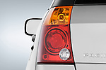Tail light close up detail view of a 2008 Chrysler Pacifica.