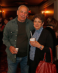 Waterbury, CT 042319MK15 (from left)  Paul Mirabelle and Donna Coviello gathered for the during the third annual UNICO meatball contest at the Palace Theatre Tuesday evening.  Francine Nido, national secretary, said this was the third year for the event with eleven local restaurants participating and two-hundred twenty-five pre-paid ticket holders along with many hungry people paying at the door.  Nido stated that the funds raised during this contest will benefit local scholarships and charities.   Michael Kabelka / Republican-American