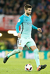 FC Barcelona's Gerard Pique during Spanish Kings Cup match. January 05,2017. (ALTERPHOTOS/Acero)
