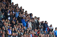 Colchester fans during Barnet vs Colchester United, Sky Bet EFL League 2 Football at the Hive Stadium on 17th September 2016
