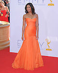 Padma Lakshmi at The 64th Anual Primetime Emmy Awards held at Nokia Theatre L.A. Live in Los Angeles, California on September  23,2012                                                                   Copyright 2012 Hollywood Press Agency