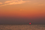 Sunset at Isla Holbox, Mexico.