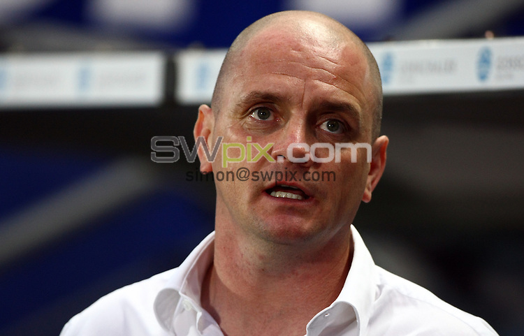 PICTURE BY VAUGHN RIDLEY/SWPIX.COM...Rugby League - Super League - Hull FC v Warrington Wolves - KC Stadium, Hull, England - 09/09/11...Hull FC Coach Richard Agar who is leaving to coach Wakefield in 2012.