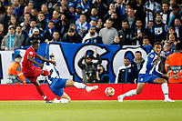 Naby Keita of Liverpool scores his sides 1st goal during the UEFA Champions League Quarter Final first leg match between Liverpool and Porto at Anfield on April 9th 2019 in Liverpool, England. (Photo by Daniel Chesterton/phcimages.com)<br /> Foto PHC/Insidefoto <br /> ITALY ONLY