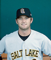 Rich Thompson / Salt Lake Bees ..Photo by:  Bill Mitchell/Four Seam Images