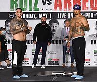 4/30/21: FOX Sports PBC PPV Fight - Ruiz vs Arreola Weigh-In