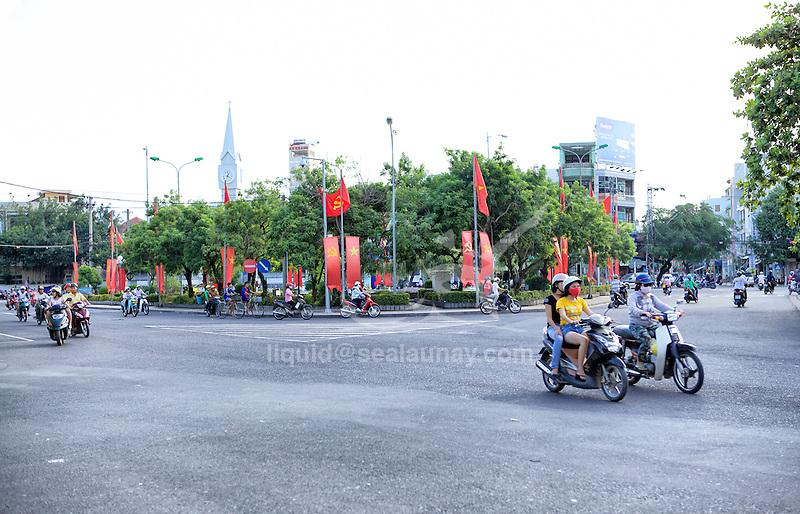 Vietnam,  officially the Socialist Republic of Vietnam (Cộng hòa Xã hội chủ nghĩa Việt Nam).<br /> Nha Trang is a coastal city and capital of Khánh Hòa Province, on the South Central Coast of Vietnam.