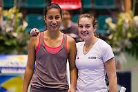 15-12-10, Tennis, Rotterdam, Reaal Tennis Masters 2010, Elise Tamaela en Claire Lablans (R)