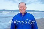 Con O'Connor enjoying a stroll in Banna beach on Sunday.