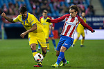 UD Las Palmas Aythami Artiles and Atletico de Madrid's Antoine Griezmann during the match of Copa del Rey between Atletico de Madrid and Las Palmas, at Vicente Calderon Stadium,  Madrid, Spain. January 10, 2017. (ALTERPHOTOS/Rodrigo Jimenez)