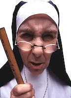 Mean nun.