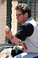 May 26, 2005:  Joe Inglett of the Buffalo Bisons during a game at Dunn Tire Park in Buffalo, NY.  Buffalo is the International League Triple-A affiliate of the Cleveland Indians.  Photo by:  Mike Janes/Four Seam Images