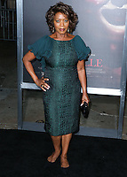 HOLLYWOOD, LOS ANGELES, CA, USA - SEPTEMBER 29: Alfre Woodard arrives at the Los Angeles Premiere Of New Line Cinema's 'Annabelle' held at the TCL Chinese Theatre on September 29, 2014 in Hollywood, Los Angeles, California, United States. (Photo by Xavier Collin/Celebrity Monitor)