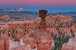 Moonrise, Thors Hammer, Bryce Canyon National Park, Utah