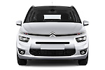 Straight front view of a 2013 Citroen GRAND C4 PICASSO Intensive 5 Door Minivan 2WD