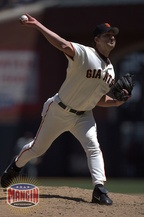 Scott Munter. Pittsburgh Pirates vs San Francisco Giants at AT&T Park in San Francisco on May 11, 2005.