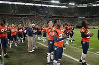 Team der Amsterdam Admirals beklatscht die Bekanntgabe des All-Star Teams