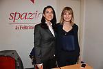 ITENE TINAGLI E ANNALISA CUZZICREA<br /> PRESENTAZIONE LIBRO IRENE TINAGLI<br /> FELTRINELLI- GALLERIA SORDI ROMA 2019