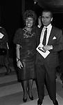 CARLA FENDI CON KARL LAGERFELD<br /> TEATRO DELL'OPERA ROMA 1981