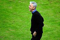 PORTO ALEGRE, RS, 13.05.2021 - GREMIO - LANUS - O técnico Thiago Nunees, da equipe do Grêmio, na partida entre Grêmio e Lanús, pela quarta rodada do Grupo H, da Copa Sul-Americana 2021, no estádio Arena do Grêmio, em Porto Alegre, nesta quinta-feira (13).