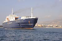 - Claudia M motor vessel of Ustica Lines company in service on the line Gaeta - Trapani - Tunis<br /> <br /> - motonave Claudia M della compagnia Ustica Lines  in servizio sulla linea Gaeta - Trapani - Tunisi