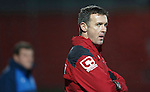 Ross County v St Johnstone...05.12.15  SPFL  Dingwall<br /> Staggies boss Jim McIntyre<br /> Picture by Graeme Hart.<br /> Copyright Perthshire Picture Agency<br /> Tel: 01738 623350  Mobile: 07990 594431