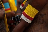 X JOGOS DOS POVOS INDÍGENAS <br /> <br /> Kaiapó.<br /> <br /> Os Jogos dos Povos Indígenas (JPI) chegam a sua décima edição. Neste ano 2009, que acontecem entre os dias 31 de outubro e 07 de novembro. A data escolhida obedece ao calendário lunar indígena. com participação  cerca de 1300 indígenas, de aproximadamente 35 etnias, vindas de todas as regiões brasileiras. <br /> Paragominas , Pará, Brasil.<br /> Foto Paulo Santos<br /> 03/11/2009