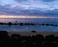 Anini Beach, Kauai, Hawaii, USA.