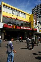 Costa Rica - file Photo -San Jose, mc donald fast food restaurant
