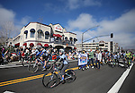 Supporters of the Carson City Off-Road mountain bike race ride in the annual Nevada Day parade in Carson City, Nev. on Saturday, Oct. 29, 2016. <br /> Photo by Cathleen Allison/Carson City Culture & Tourism Authority