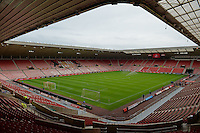 General view of the Stadium of Light during the Barclays Premier League match between Sunderland and Swansea City played at Stadium of Light, Sunderland