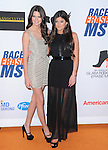 Kendall Jenner and Kylie Jenner at The 19th ANNUAL RACE TO ERASE MS GALA held at The Hyatt Regency Century Plaza Hotel in Century City, California on May 18,2012                                                                               © 2012 Hollywood Press Agency